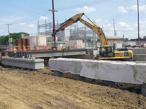 Carpenter Street Underpass Construction project in Springfield, IL